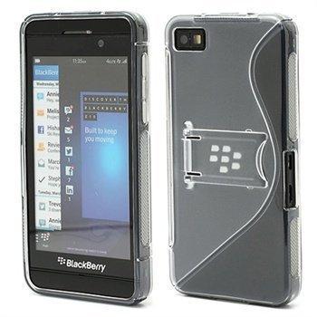 BlackBerry Z10 S-Shape Hybrid Suojakotelo Harmaa