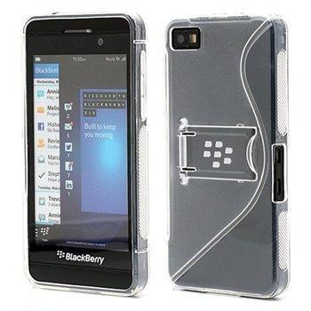BlackBerry Z10 S-Shape Hybrid Suojakotelo Läpinäkyvä