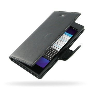 BlackBerry Z3 PDair Leather Case NP3BBBE3B41 Musta