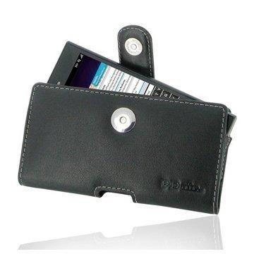 BlackBerry Z3 PDair Vaakakotelo Nahka Musta