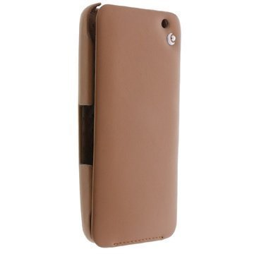 BlackBerry Z30 Noreve Tradition Flip Leather Case Brown