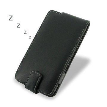 BlackBerry Z30 PDair Leather Case 3BBBZ3F41 Musta