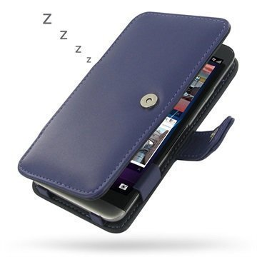 BlackBerry Z30 PDair Leather Case 3LBBZ3B41 Violetti