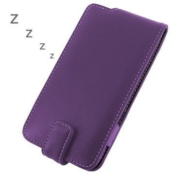 BlackBerry Z30 PDair Leather Case 3LBBZ3F41 Violetti