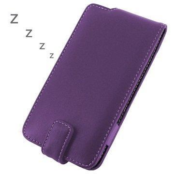BlackBerry Z30 PDair Leather Case 3LBBZ3F41 Violetti
