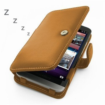 BlackBerry Z30 PDair Leather Case 3TBBZ3B41 Ruskea