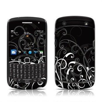 Blackberry Curve 3G 9300 Curve 9350 Curve 9360 Curve 9370 B&W Fleur Skin