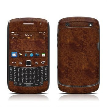 Blackberry Curve 3G 9300 Curve 9350 Curve 9360 Curve 9370 Dark Burlwood Skin