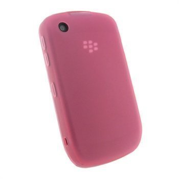Blackberry Curve 8520 Curve 3G 9300 iGadgitz TPU-Suojakotelo Pinkki