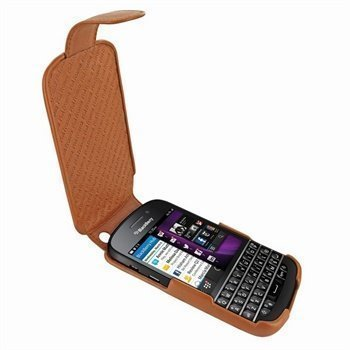 Blackberry Q10 Piel Frama iMagnum Leather Case Tan
