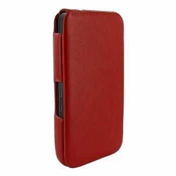 Blackberry Z10 Piel Frama iMagnum Nahkakotelo Punainen