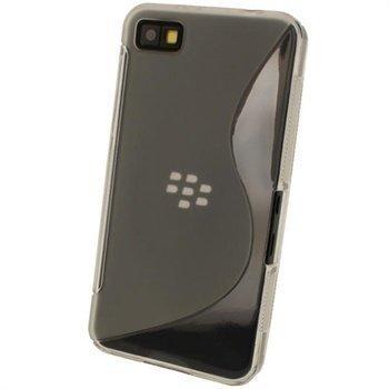 Blackberry Z10 iGadgitz Kaksisävyinen TPU-Suojakotelo Selkeä