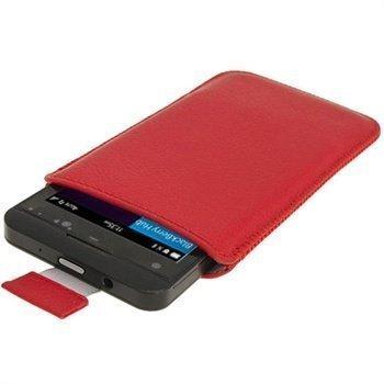 Blackberry Z10 iGadgitz Nahkakotelo Punainen