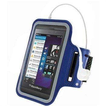 Blackberry Z10 iGadgitz Urheilu Käsivarsikotelo Sininen