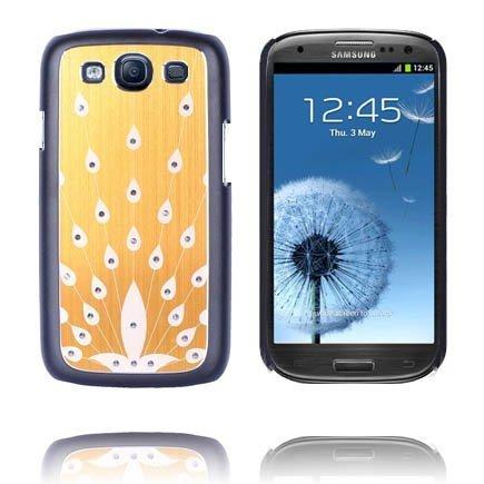 Bling Kulta Samsung Galaxy S3 Alumiininen Suojakuori