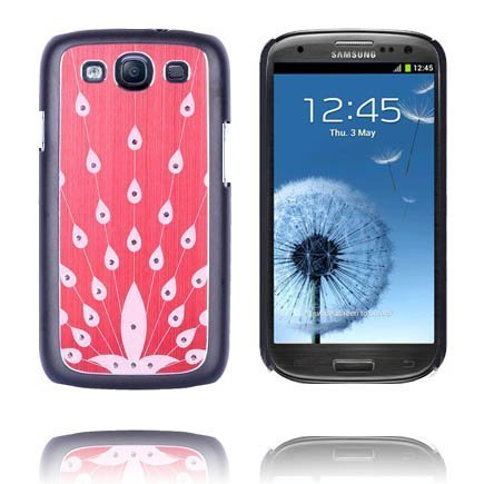Bling Punainen Samsung Galaxy S3 Alumiininen Suojakuori