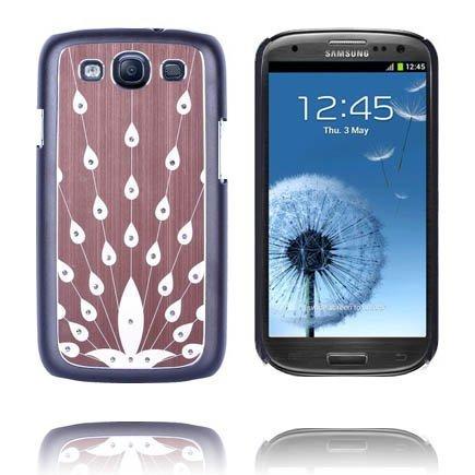 Bling Ruskea Samsung Galaxy S3 Alumiininen Suojakuori