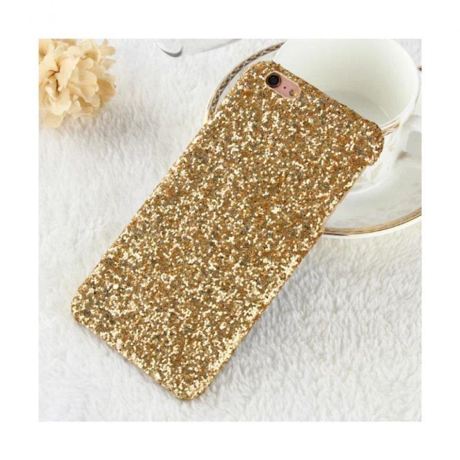 Blixen Iphone 7 Tekojalokivi Paljetti Kuori Kulta