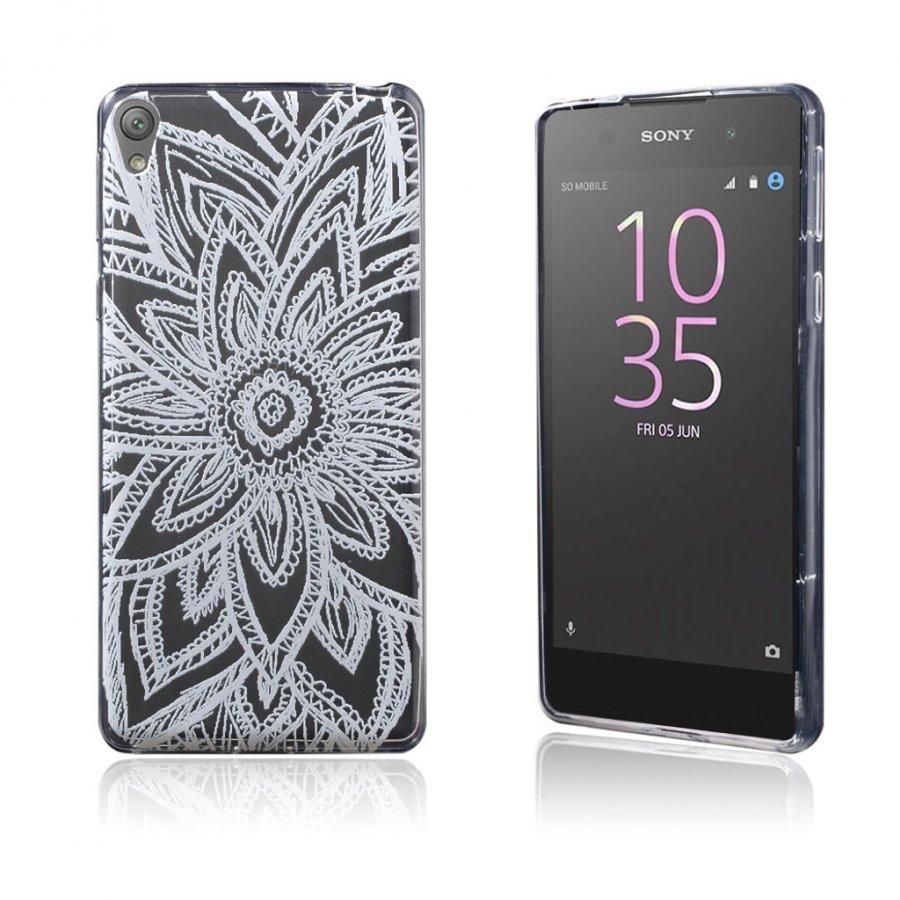 Blixen Sony Xperia E5 Erittäin Ohut Joustava Muovikuori Henna Lootus