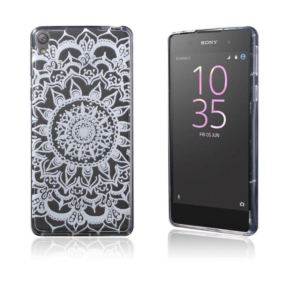 Blixen Sony Xperia E5 Erittäin Ohut Joustava Muovikuori Mandala Kuvio