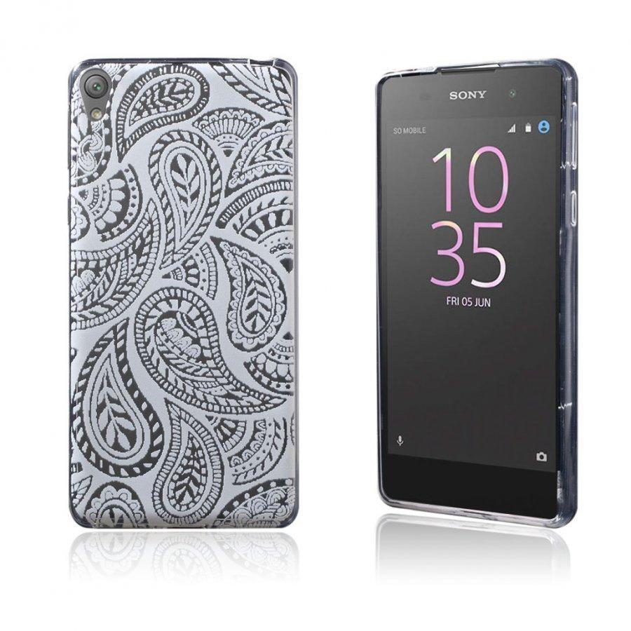 Blixen Sony Xperia E5 Erittäin Ohut Joustava Muovikuori Moderni Tyylinen Kuvio
