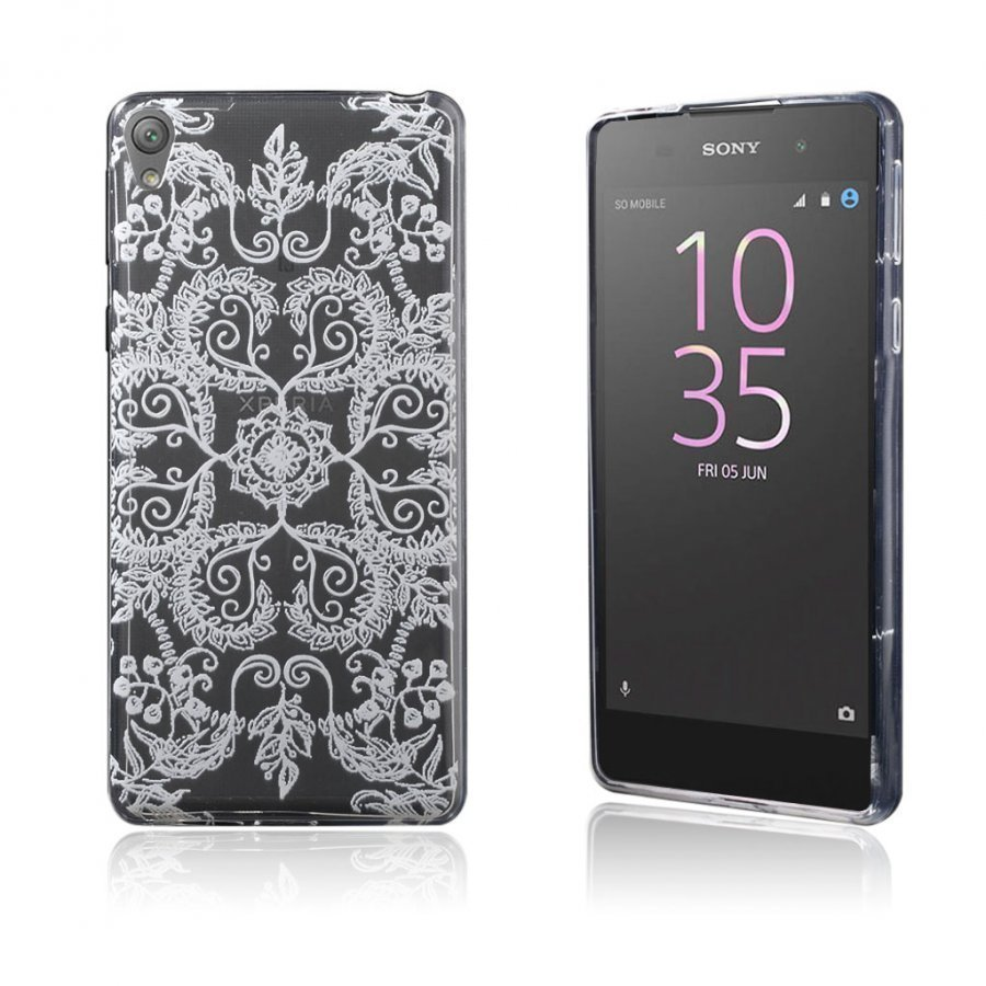 Blixen Sony Xperia E5 Erittäin Ohut Joustava Muovikuori Symmetrinen Kuvio