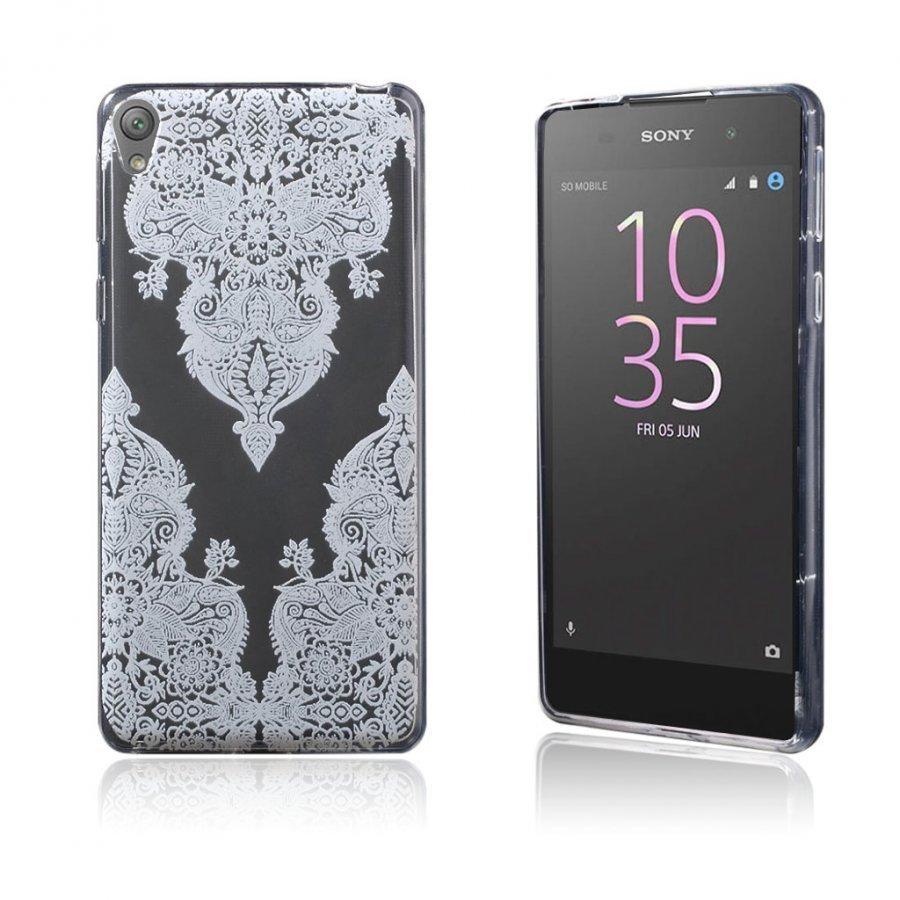 Blixen Sony Xperia E5 Erittäin Ohut Joustava Muovikuori Toteemi Kuvio