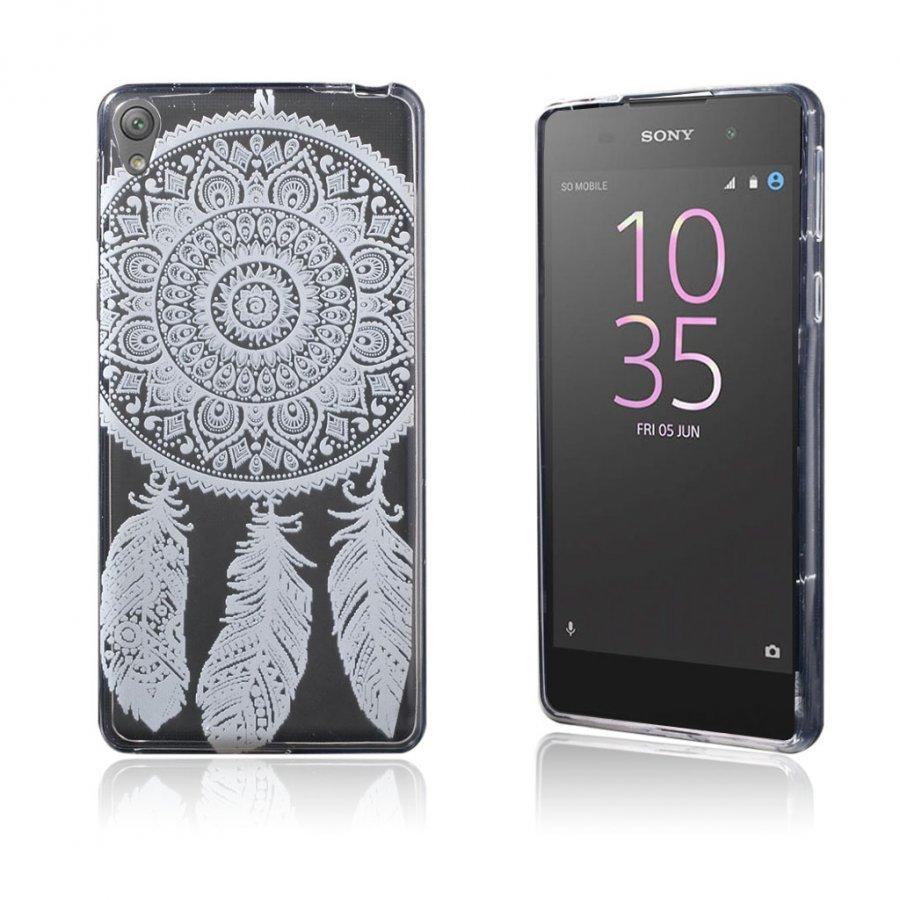 Blixen Sony Xperia E5 Erittäin Ohut Joustava Muovikuori Unensieppaaja