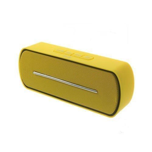 Bluetooth Kaiutin Mikrofonilla Keltainen
