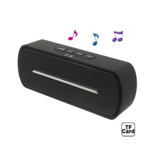 Bluetooth Kaiutin Mikrofonilla Musta
