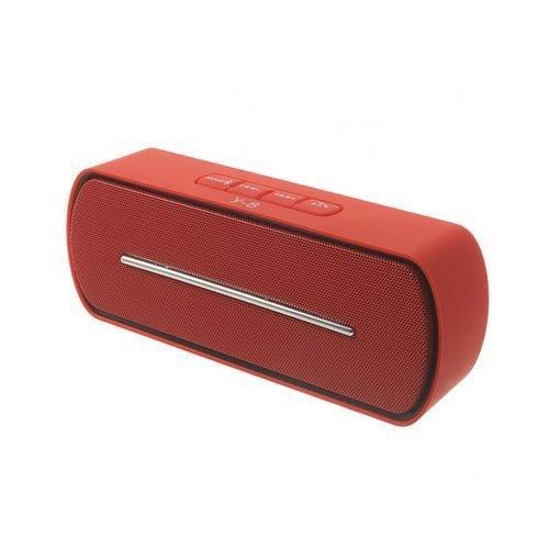 Bluetooth Kaiutin Mikrofonilla Punainen