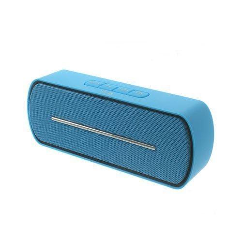 Bluetooth Kaiutin Mikrofonilla Sininen