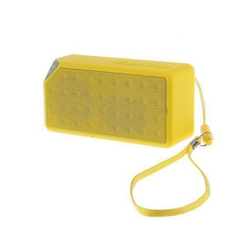 Bluetooth Kaiutin Radiolla Keltainen