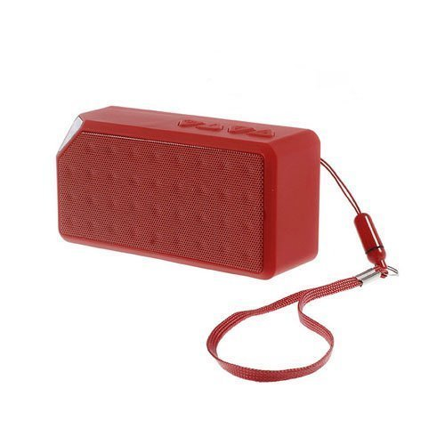 Bluetooth Kaiutin Radiolla Punainen