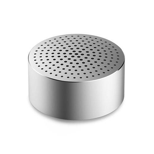 Bluetooth V4.0 Kaiutin Mikrofonilla Hopea