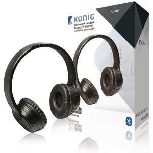 Bluetooth-kuulokemikrofoni 4.0 musta