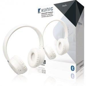 Bluetooth-kuulokemikrofoni 4.0 valkoinen