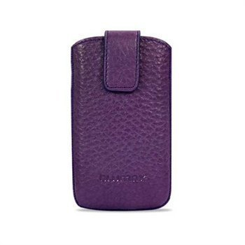 Blumax Filo Leather Case Purple