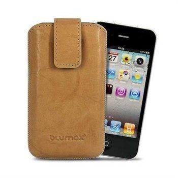 Blumax Leather Case Beige