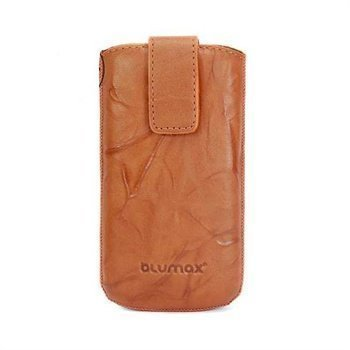 Blumax Leather Case Brown