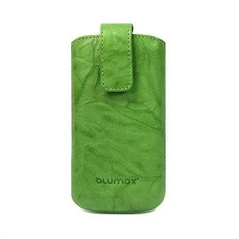 Blumax Leather Case Green