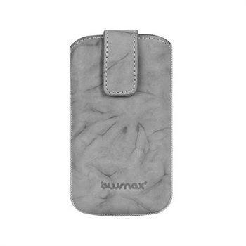 Blumax Leather Case Grey