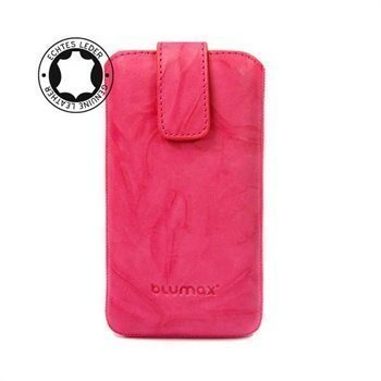 Blumax Leather Case Pink