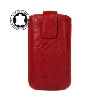Blumax Leather Case Red