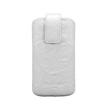 Blumax Leather Case White