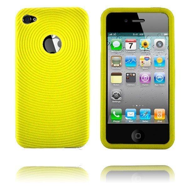 Bombay I4 Keltainen Iphone 4 Silikonikuori