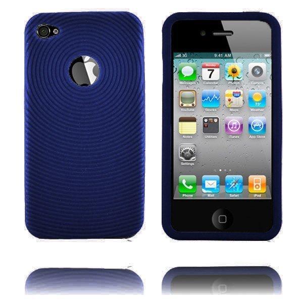 Bombay I4 Tummansininen Iphone 4 Silikonikuori