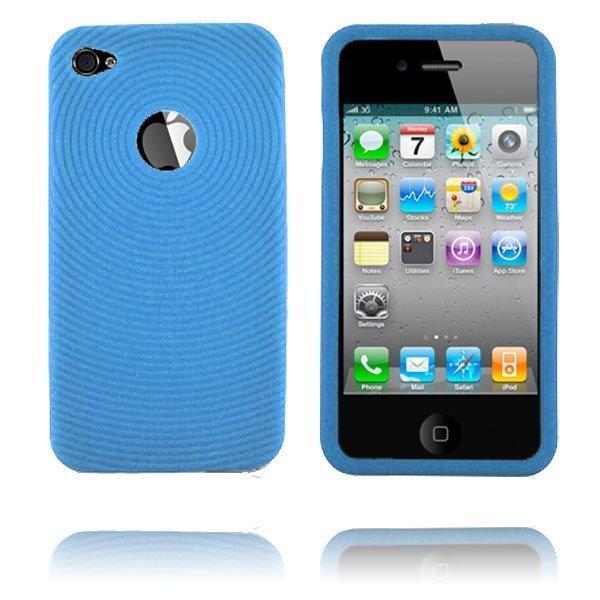 Bombay I4 Vaaleansininen Iphone 4 Silikonikuori
