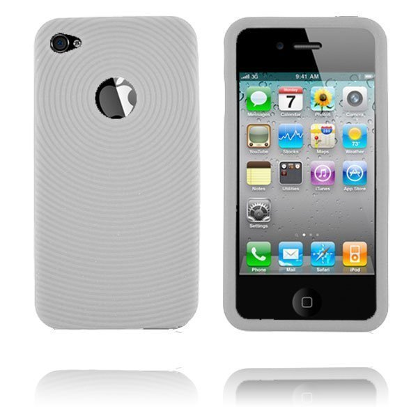 Bombay I4 Valkoinen Iphone 4 Silikonikuori