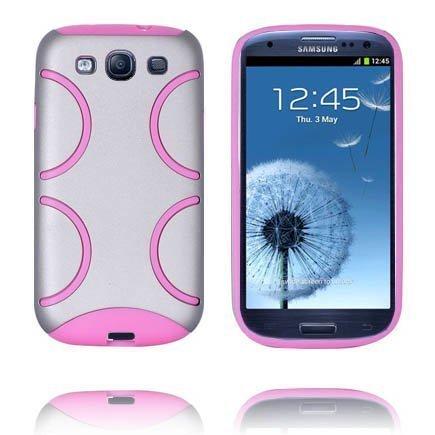 Bomber Harmaa Samsung Galaxy S3 Silikonikuori